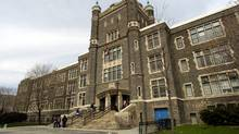 Exteriors of Central Technical High School in Toronto. (Fred Lum/Fred Lum/The Globe and Mail)