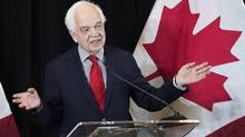 John McCallum, Minister of Immigration, Refugees and Citizenship, said earlier this week that he would consider a moratorium, as the government received an extension to respond to a Federal Court application on the issue. (Nathan Denette/THE CANADIAN PRESS)