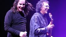 Ozzy Osbourne has reconciled with guitarist Tony Iommi. (J.P. MOCZULSKI/THE GLOBE AND MAIL)