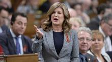 Interim Conservative Leader Rona Ambrose asks a question during Question Period in the House of Commons in Ottawa, Wednesday, March 8, 2017. (Adrian Wyld/THE CANADIAN PRESS)