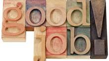 Wood sign saying good job (Marek Uliasz/Getty Images/iStockphoto)
