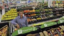 Wal-Mart Canada CEO David Cheesewright in a Mississauga store, September 12, 2011. (J.P. MOCZULSKI for The Globe and Mail/J.P. MOCZULSKI for The Globe and Mail)