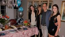 Jaclyn, Paul and Michelle Marcus