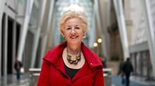 Annette Verschuren, Chair and CEO of NRStor Inc., a company that focuses on the planning and development of energy storage solutions, poses for a portrait in Toronto, Friday, April 11, 2014. (Galit Rodan For The Globe and Mail)
