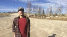 Green energy activist Daniel T'Seleie, who believes northern Canada could improve its energy security by investing in more solar panels, is pictured outside Bechoko, Northwest Territories in this September 30, 2015 file photo. T'seleie, an indigenous activist in the far north, is campaigning to help his people wean themselves from a worrying dependence on imported fuel and food, recover old traditions and win greater autonomy from the Canadian government. In a region with nearly 24 hours of daylight in the summer, one way to help meet his goals seems obvious: more solar power. (STAFF/REUTERS)