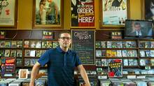 Kingston resident Michael Onesi is the co-author of Four Word Film Reviews. (Harrison Smith For The Globe and Mail/Harrison Smith For The Globe and Mail)