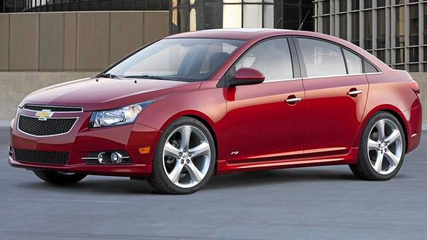 The Chevy Cruze Gm 39 S Best Small Car The Globe And Mail