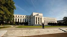 The U.S. Federal Reserve building in Washington. (Kevin Lamarque/Reuters)
