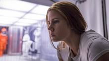 """This image released by Paramount Pictures shows Amy Adams in a scene from """"Arrival."""" (Jan Thijs/AP)"""