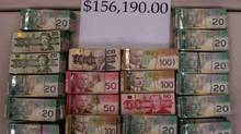 Ontario police forces worked together on Project Blackhawk, targeting drug trafficking and money laundering.
