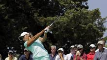 Cheyenne Woods has never won an LPGA tournament or had a top-10 finish, and her career earnings on Tour total just $20,999 (U.S.). Yet, Woods played as if she were a veteran on Thursday, with excellent putting leading the way while also hitting 100 per cent of her fairways. (Hunter Martin/Getty Images)