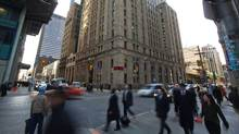 Bay Street in Toronto, Ontario is seen here on Thursday Feb. 9, 2012. (Tim Fraser For The Globe and Mail)