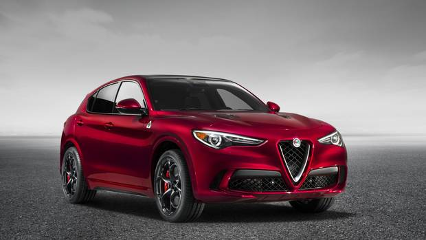 Alfa Romeo prices 2018 Stelvio crossover from $41995