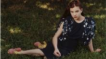 Girly show: Hailee Steinfeld is Miu Miu's young, 14-year-old muse.