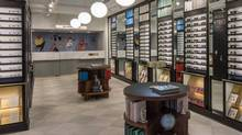 Warby Parker's Queen Street West store in Toronto. (Warby Parker)