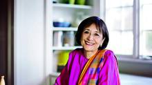 Madhur Jaffrey has a new book devoted to vegetarian Indian cooking (Christopher Hirsheimer)