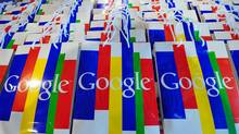 If Google's rumoured $5-billion to $6-billion (U.S.) bid for Groupon is successful, it would be the largest acquisition ever for Google. (JOHANNES EISELE/AFP/Getty Images)