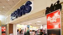 The Sears store at the CambridgeSide Galleria mall in Cambridge, Mass.
