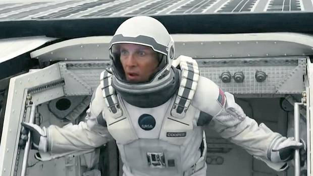 Interstellar - The trailer for Christopher Nolan's sci-fi flick blew the minds of Comic-Con crowds, although we should all be worried when someone quotes Do Not Go Gentle into That Good Night. (youtube.com)