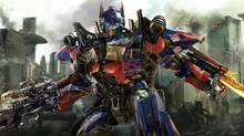 "Optimus Prime is shown in a scene from ""Transformers: Dark of the Moon."" (Paramount Pictures/AP)"