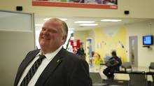 Toronto Mayor Rob Ford (Kevin Van Paassen/The Globe and Mail)