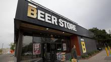 A Beer Store locating in Oakville on May 14, 2013. The plaintiff in a class-action suit against the Beer Store and LCBO is accusing Ontario of amending a law to retroactively protect the province's liquor-sales duopoly. (Deborah Baic/The Globe and Mail)