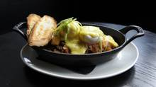 The Saint's lobster corned beef hash (Fred Lum/The Globe and Mail/Fred Lum/The Globe and Mail)