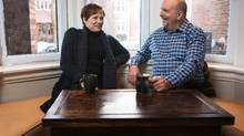 Pat and Andrew Gillespie of Toronto have contributed to the Canada Pension Plan through most of their working lives, however the Post Retirement Benefit was simply off their radar. After considering it, they decided it wasn't for them. (Jennifer Roberts/The Globe and Mail)