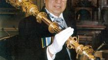In 2000, Mr. Knockwood became the Nova Scotia legislature's first aboriginal sergeant-at-arms and served in that position for five years. (Communication Nova Scotia)