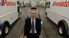 Patrick Nangle CEO of Purolator, at the company's sorting plant on Mississauga, Ont. 'We have some large and international competitors who invest heavily. However, we know Canada unlike anyone else. We touch every nook and cranny of Canada.' (Fernando Morales/The Globe and Mail)