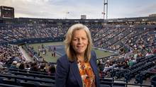 Former Women's Tennis Association chairman and CEO Stacey Allaster says the new job with the United States Tennis Association hits her 'two sweet spots: tennis and women in leadership in sport.' (Moe Doiron/The Globe and Mail)