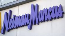 The Neiman Marcus sign outside a store in Golden, Colorado in this December 9, 2009, file photo. (RICK WILKING/REUTERS)