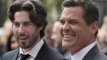 "Josh Brolin and director Jason Reitman (left) arrive for the ""Labor Day"" film screening at the Toronto International Film Festival in Toronto on September 7, 2013. (Mark Blinch/Reuters)"
