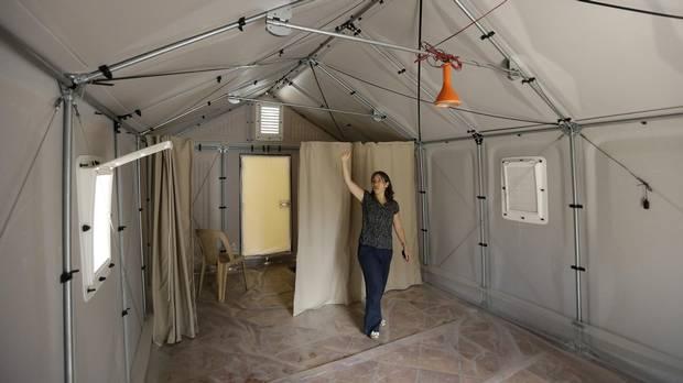 ikea foundation building easy to assemble refugee shelters. Black Bedroom Furniture Sets. Home Design Ideas