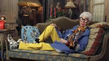 Iris Apfel, 84, pictured at home in New York, in November, 2005. (Chester Higgins Jr./NYT)