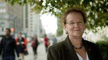 Naomi Alboim, co-author of a Maytree report on Canada's immigration policies shares some insight of her findings. (DELLA ROLLINS/THE GLOBE AND MAIL)