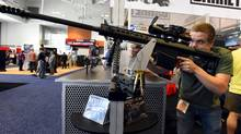 The NRA exploits the rancour of the gun debate and is able to bring in an army of single-issue voters when needed. (Harrison McClary/REUTERS)