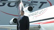 File photo of Ajay Virmani, president and CEO of the Canadian air freight company Cargojet. (Glenn Lowson/The Globe and Mail)