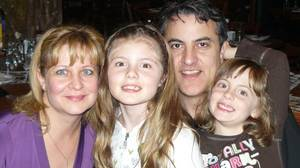 Mario Bottone, vice-president of Workopolis, with his wife Lucy Conte, and daughters Julia, 10, and Emily, 8.
