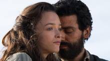 Charlotte Le Bon and Oscar Isaac in The Promise. (©joseharo)