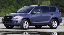 2012 Toyota RAV4. 90 per cent of the RAV4s sold in the last 15 years are on the road today (Toyota)