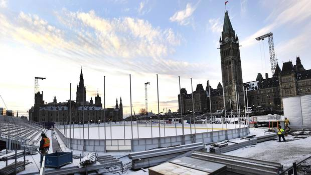 Politics Briefing newsletter: NHL alumni play hockey on Parliament Hill