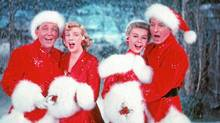 "A scene from ""White Christmas,"" the movie based on the song written by Irving Berlin"