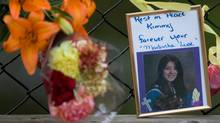 A photo of Kimberly Proctor, an 18-year-old from Langford whose burned body was found in the Victoria suburb in March 2010. (Geoff Howe for The Globe and Mail)