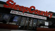 Sleep Country, founded by Stephen Gunn, Christine Magee and Gord Lownds in Vancouver in 1994, has 215 stores across eight Canadian provinces, including 47 outlets in Quebec under the Dormez-vous? brand. (Deborah Baic/The Globe and Mail)