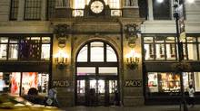 A Macy's Inc. store in New York. (John Taggart/Bloomberg)