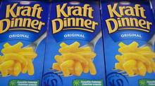 Kraft Dinner, the old standby. (FRANCIS VACHON/THE CANADIAN PRESS)
