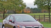 Despite initial criticisms, the 2012 Civic is still the top-selling car in Canada. (Honda)