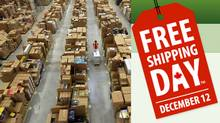 Among those participating in Freeshoppingday.ca are Adidas, Aldo, Apple, Banana Republic, Best Buy, Dell, Dyson, Indigo, Gap, Garage, Leap Frog, Old Navy, Roots, The Source, Sport Chek, Staples, TigerDirect.ca, Toys R Us and Under Armour. (Matt Cardy/Getty Images)