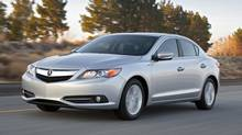 The 2013 Acura ILX Hybrid is yet another 'green' car option in a crowded hybrid market. (Honda)